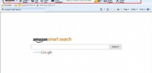 come eliminare Amazon Smart Search