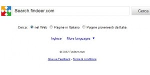 come eliminare Search.findeer.com dal computer