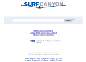 come eliminare surf canyon