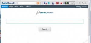 come eliminare social search toolbar