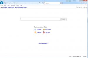 come eliminare search.jzip.com dal computer