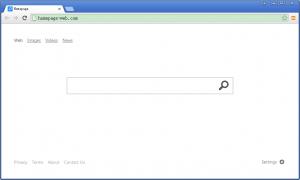 come eliminare homepage-web dal computer
